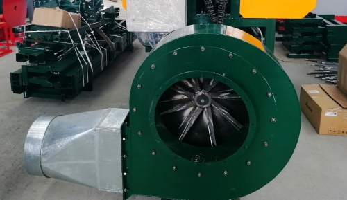 Система аспирации 11 кВт (ВЦП-6.3)
