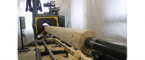 Log lathe OCS-3AM
