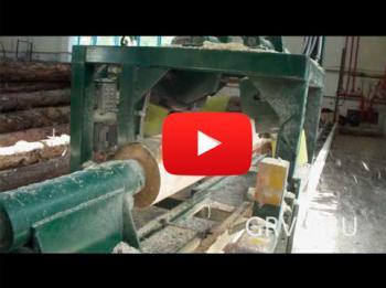 Производство оцилиндрованного бревна 2